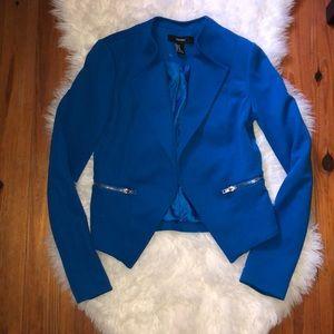 Forever 21 Cute Royal Blue Blazer